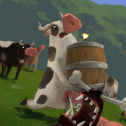 Cows vs Vikings